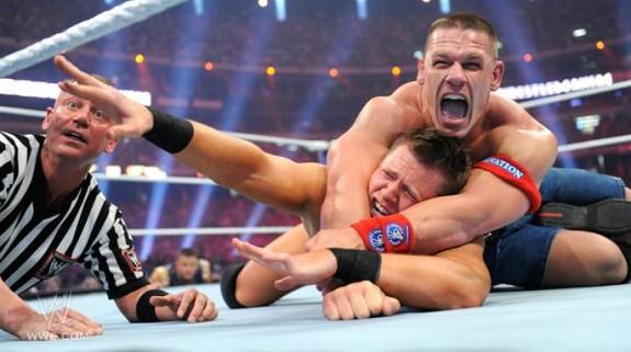 John Cena vs The Miz