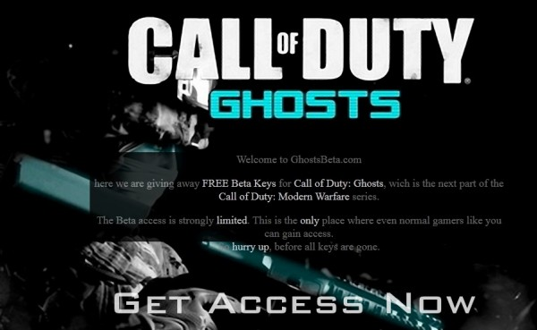 Ghosts Beta