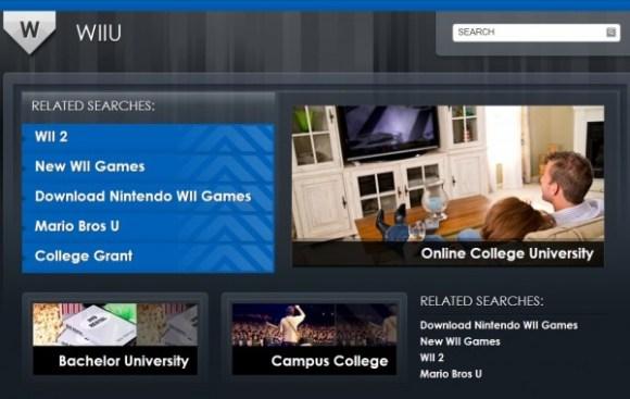Wiiu.com parked page