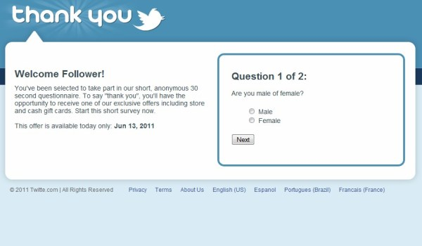 Twiter.com (typo) domain dispute is not the only problem name for Twitter