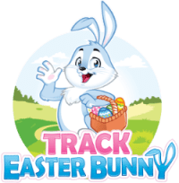 Track Easter Bunny