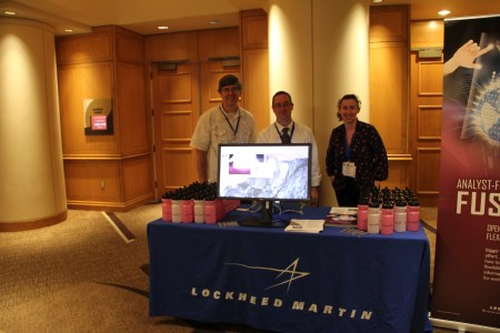 Lockheed Martin booth