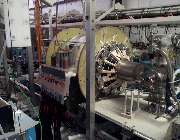 The fusion driven rocket test chamber at the UW Plasma Dynamics Lab in Redmond is a proving ground for fusion-powered rockets.