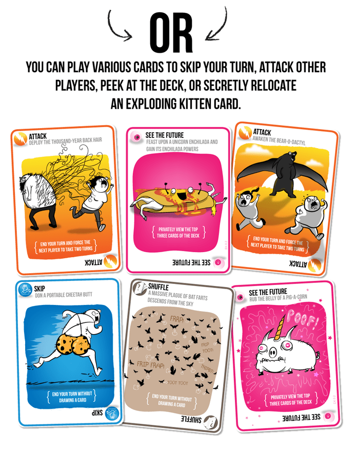 other exploding cards
