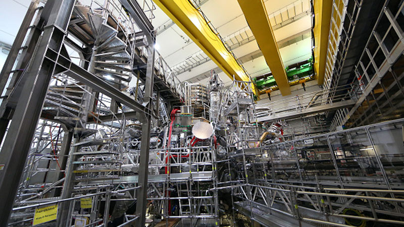 Wendelstein 7-X nuclear fusion reactor