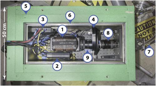 Imaging divertor strike point splitting in RMP ELM suppression experiments in the DIII-D tokamak