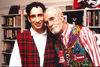 Douglas Rushkoff and Timothy Leary