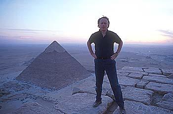 Pyramid man - photo by Santha Faia