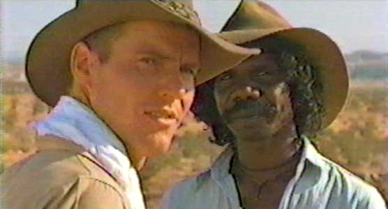 The Right Stuff - Gordon Cooper and an Aborigine