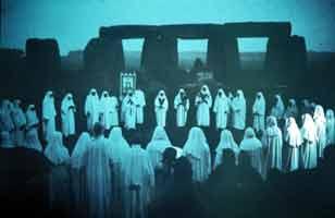 Stonehenge Druids