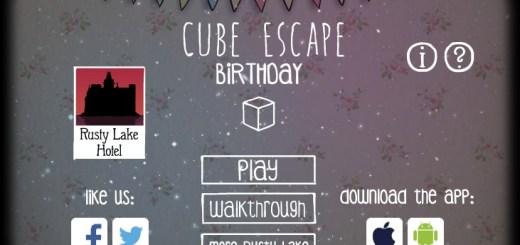 Cube escape Birthday прохождение игры