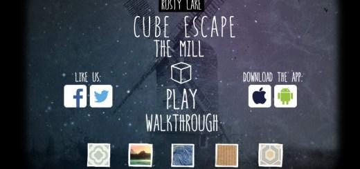 Cube escape the mill прохождение