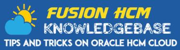 Fusion HCM Header