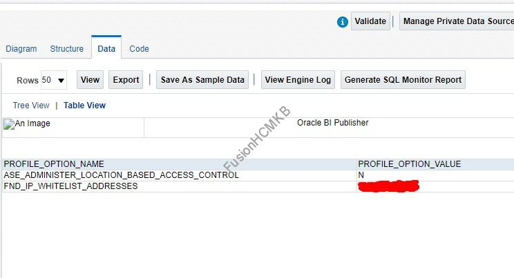 Location Based Access Control settings and IP Whitelist addresses list in fusion hcm oracle hcm cloud lbac