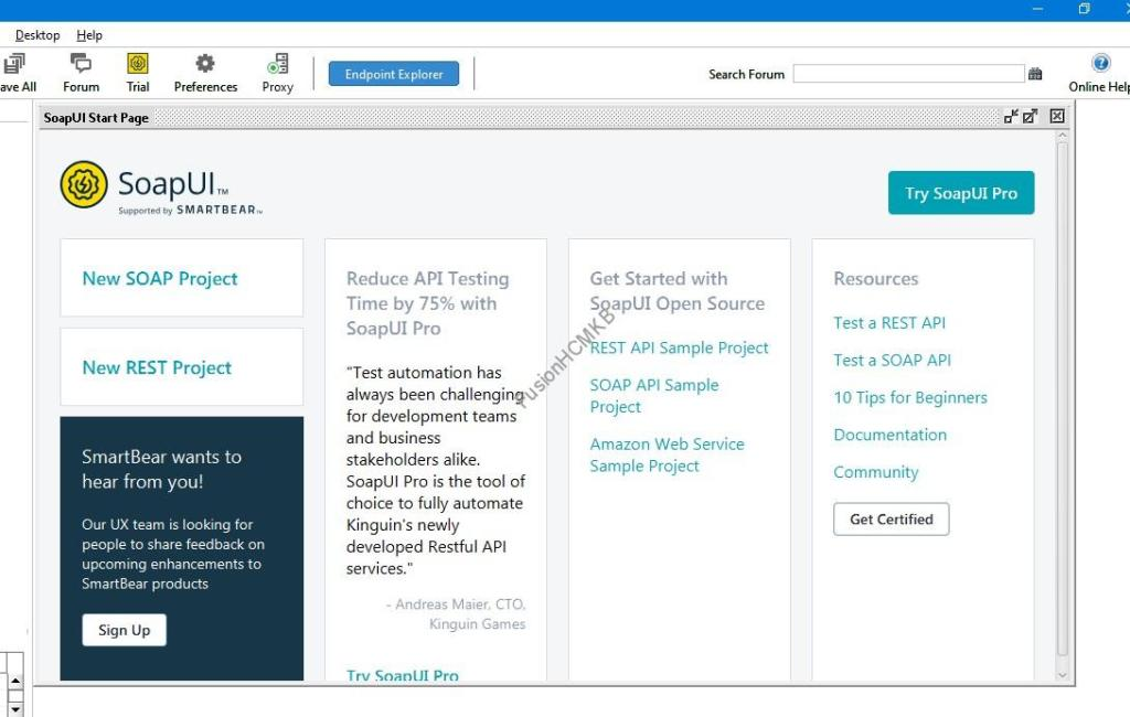 SOAPUI tool for testing rest and soap web services in fusion hcm
