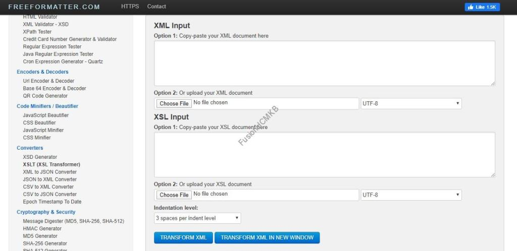 XSL Transformation online tool for xsl templates testing in Fusion HCM