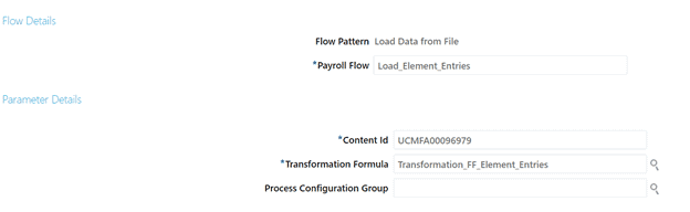 Inputs to Flow