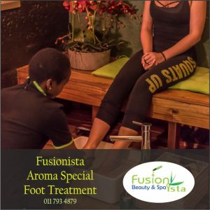 Fusionista Foot Massage, Foot Scrub or Foot Massage and Scrub