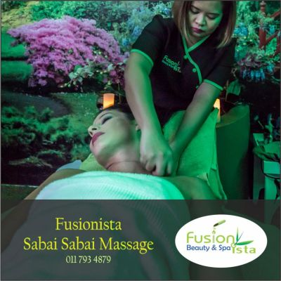 Fusionista, Spa, Super Spa, Sabai Sabai Massage, best of, Randburg, Johannesburg