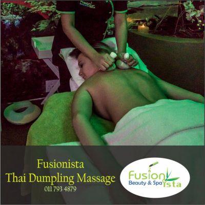 Fusionista, Spa, Super Spa, Fusionista Thai Dumpling Massage, best of, Randburg, Johannesburg