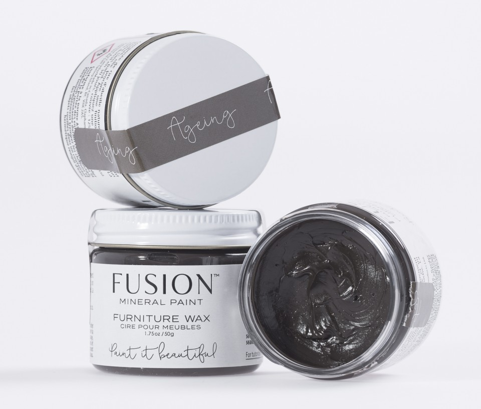 How To Use Furniture Wax Amp Metallic Waxes Fusion Mineral Paint