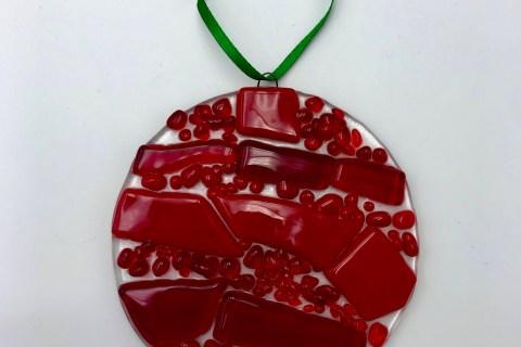 $18  (3.5″) Circle Ornament (Nov-Dec)