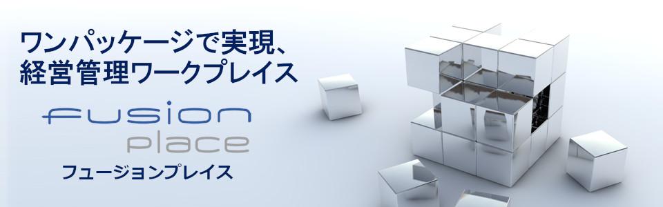 ワンパッケージで実現、経営管理ワークプレイス | フュージョンプレイス