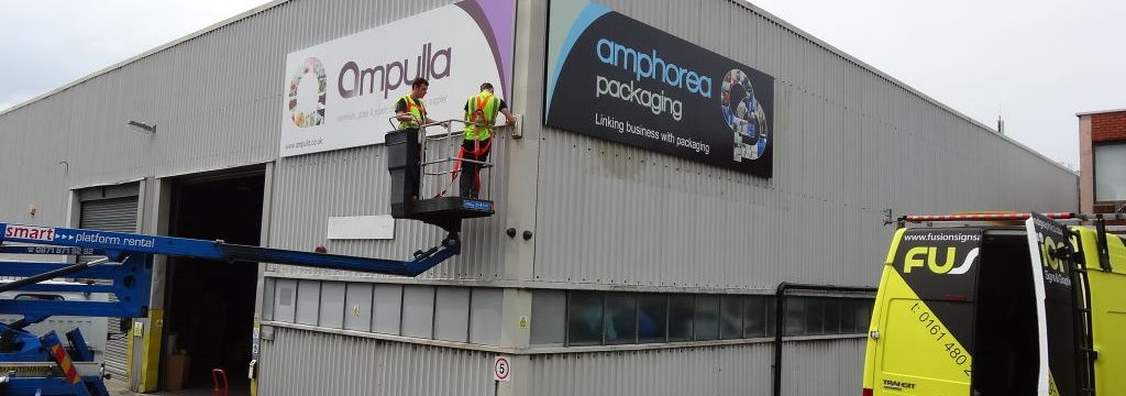 Building Signs for Ampulla