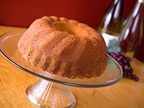 Butter Rum Glazed Fussell Cake