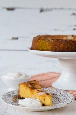 Very lemony almond and polenta cake from Sophie Thompson's My Family Kitchen
