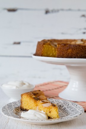 Very lemony almond and polenta cake from Sophie Thompson's My Family Kitchen
