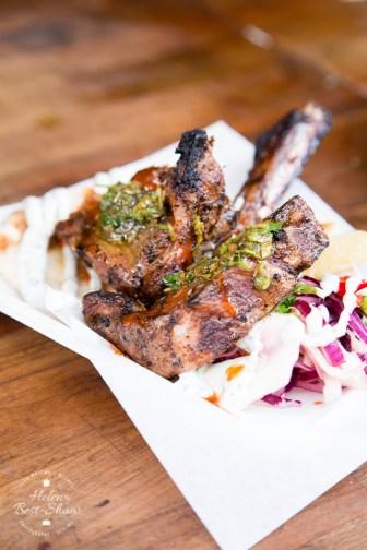 Great British street food featuring lamb