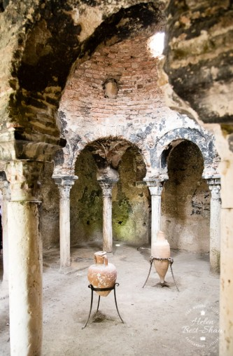 The Arab Baths in Palma Mallorca, a memory of the city's Moorish past