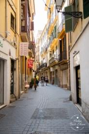 Typical Streets in Palma de Mallorca