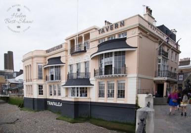 The Trafalgar Tavern in London's Greenwich