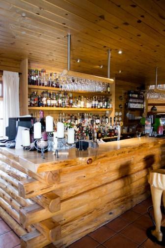 Bar at the Hotel Ranga, South Iceland