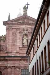 Heidelberg is an attractive town, sitting on the Neckar river, most famous for its university established in the 14th century. For the best views take the funicular up to the castle.