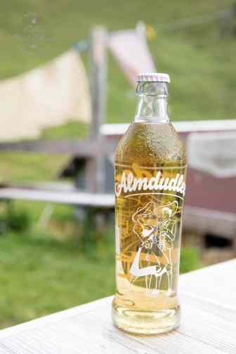 Austrian Almdudler -a popular carbonated drink