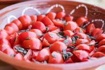Food of Tinos - tomato salad