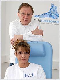 Dr.Alexander Sikorski und Monika Kriescher