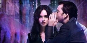 Jessica Jones and the villain