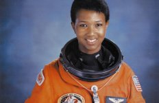 Mae Jennison, the first African American in space