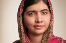 Malala Yousafzai, activist for female education and the youngest Nobel Prize laureate - photographed by Mark Tucker