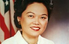Patsy Mink, first woman of color elected to US Congress