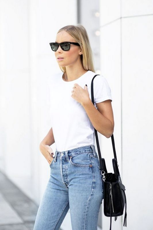 11 Styling Tips To Wear Your White T Shirt In Ways You