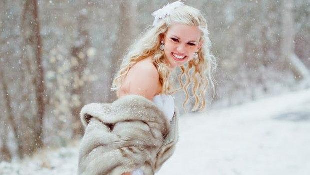 Five Essentials Every Dreamy Winter Bride Needs