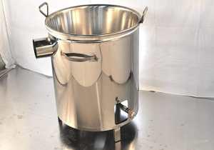 CUVES INOX GAZ avec chauffage rapide