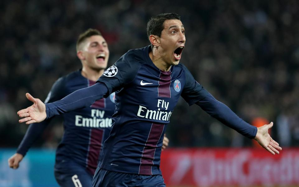di maria 1 - Ligue 1: Di Maria sends PSG five points clear as Nice see red