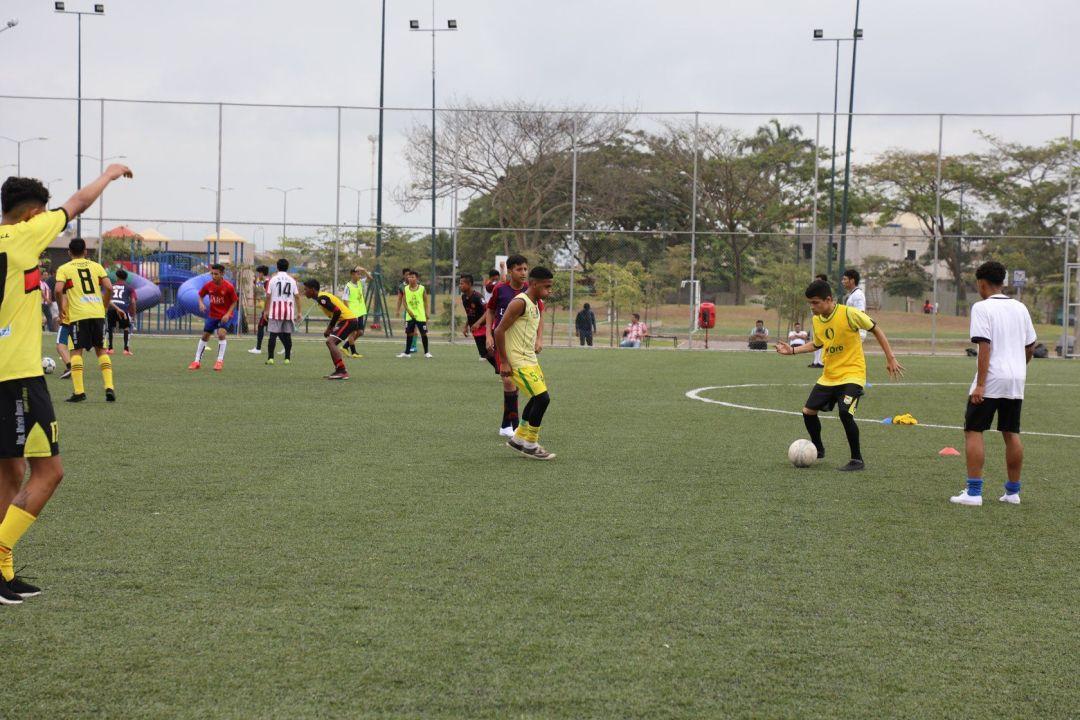 ejercicios de fútbol en ecuador en las pruebas futbalia