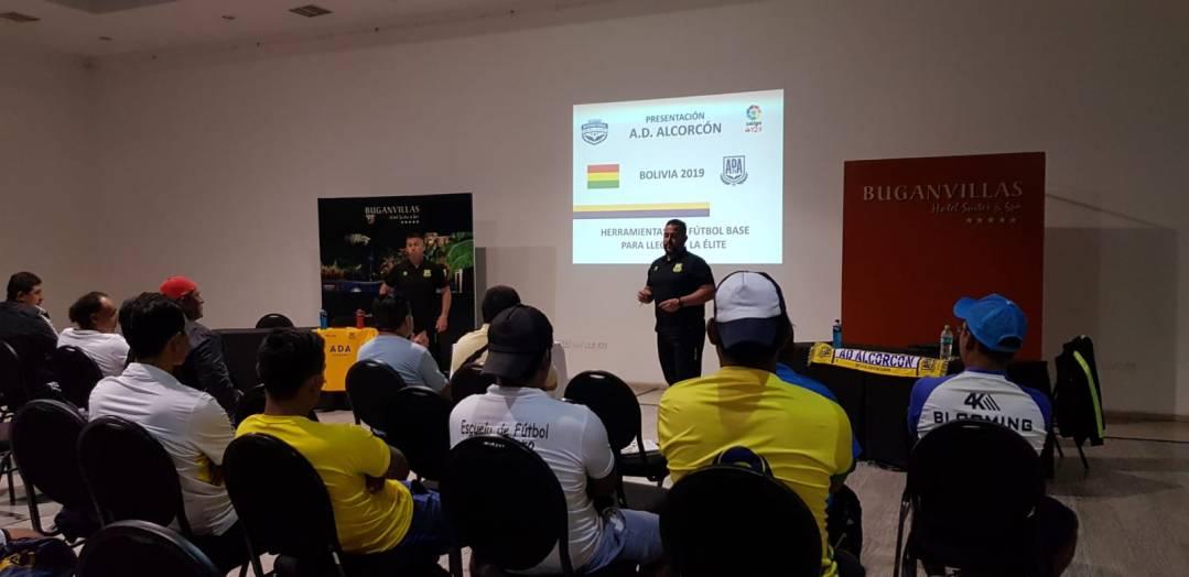 curso de entrenadores en Bolivia